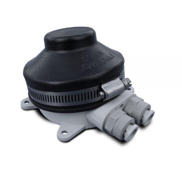 foot pump quick connect