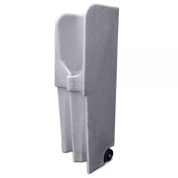 Wheeled mobile urinal